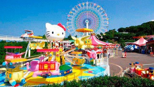 Hello-Kitty-Land