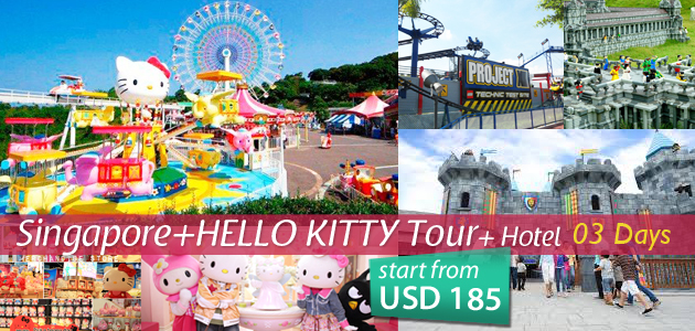 Singapore+Hello Kitty tour 2014 (3 DAYS)